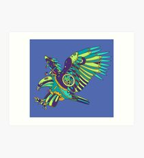 Eagle, from the AlphaPod collection Art Print