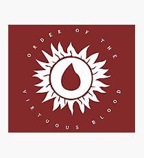Oblivion - Virtuous Blood Photographic Print
