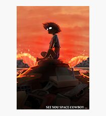 Cowboy Bebop - See you space cowboy Photographic Print