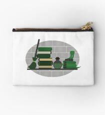 House Shelf - Snake (grey background) Zipper Pouch