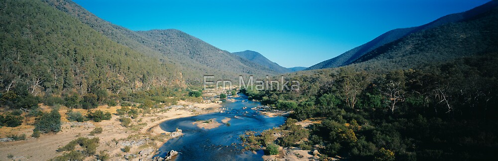 The Snowy River by Ern Mainka