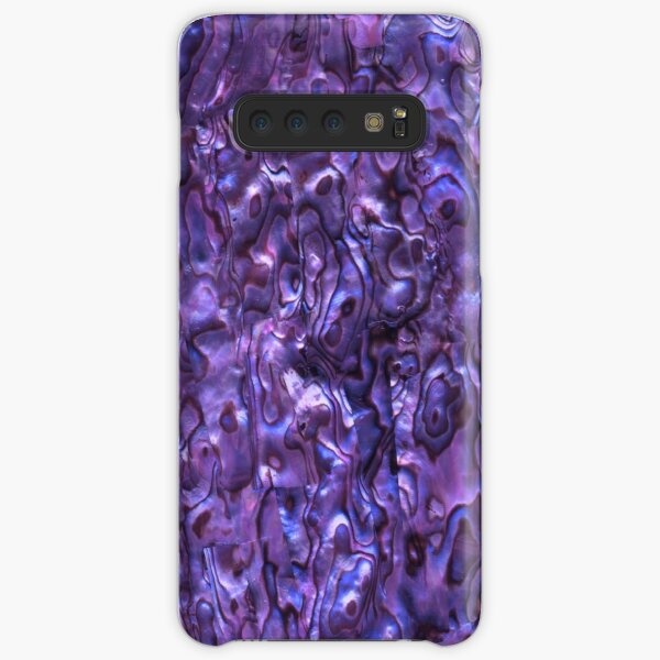 Abalone Shell | Paua Shell | Seashell Patterns | Sea Shells | Violet Tint |  Samsung Galaxy Snap Case