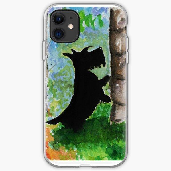 Scottie Dog 'Any Squirrels?' iPhone Soft Case