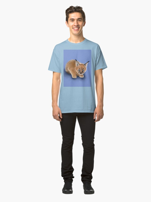 Alternate view of Caracal Cub Classic T-Shirt
