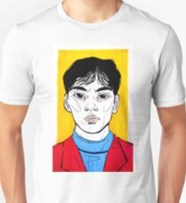 Strangers I Pass By - Primary Portrait T-Shirt