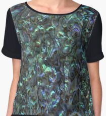 Abalone Shell | Paua Shell | Natural Chiffon Top