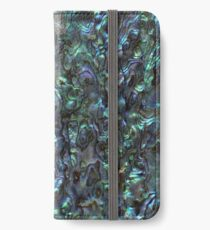 Abalone Shell | Paua Shell | Natural iPhone Wallet/Case/Skin
