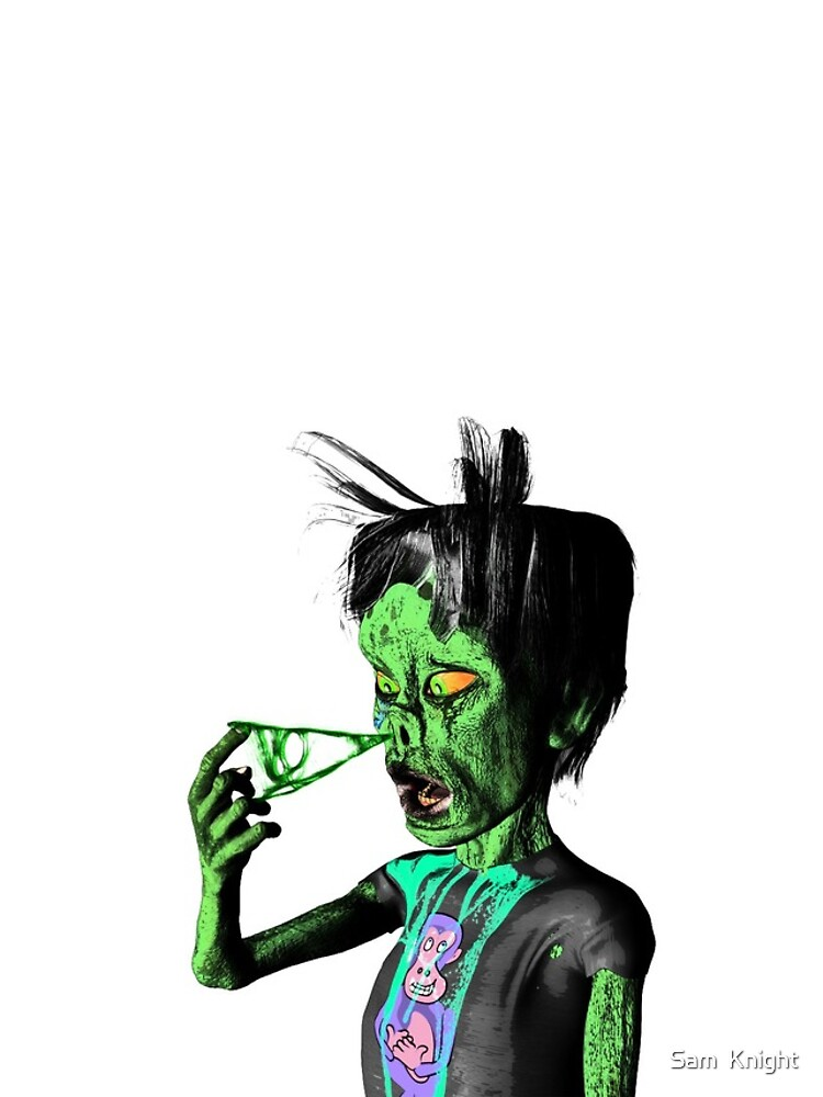 The Gross Zombie by Sam-Knight
