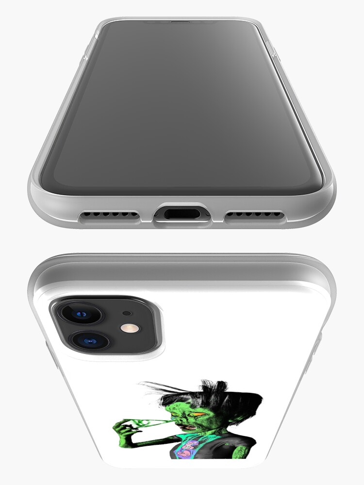 Alternate view of The Gross Zombie iPhone Case & Cover