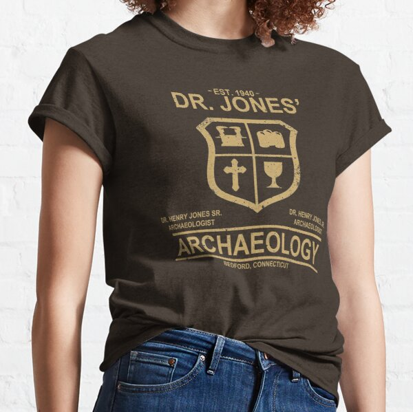 Dr. Jones' Archaeology Classic T-Shirt