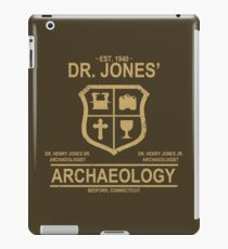 Dr. Jones' Archaeology iPad Case/Skin