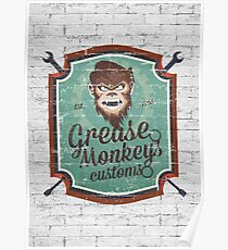 Grease Monkey Poster