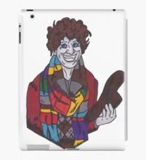 The 4th Doctor - Tom Baker - Doctor Who iPad Case/Skin