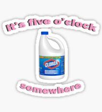 Irgendwann um 5 Uhr Sticker