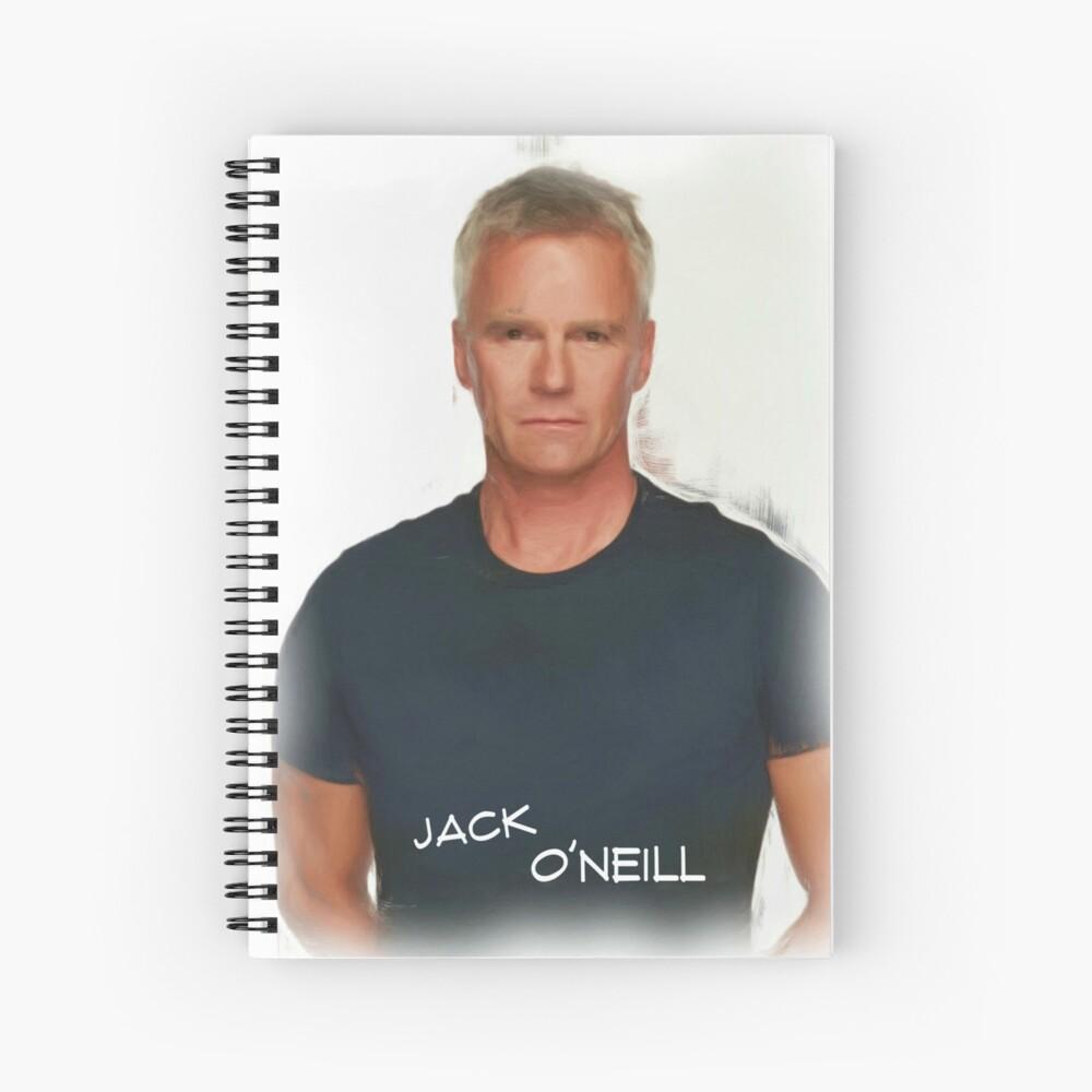 Jack O'Neill Spiral Notebook