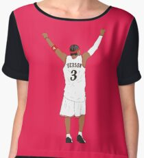 Allen Iverson Back-To Women's Chiffon Top