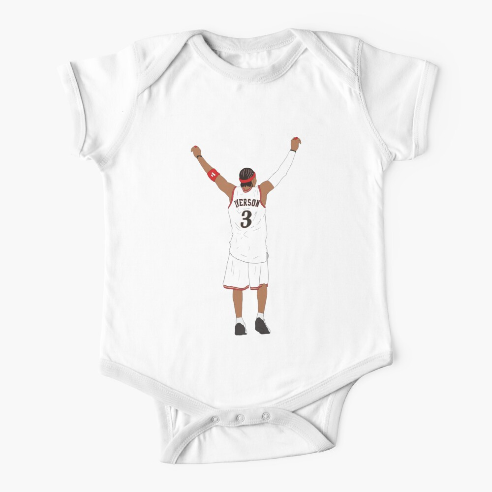 Allen Iverson Back-To Baby One-Piece