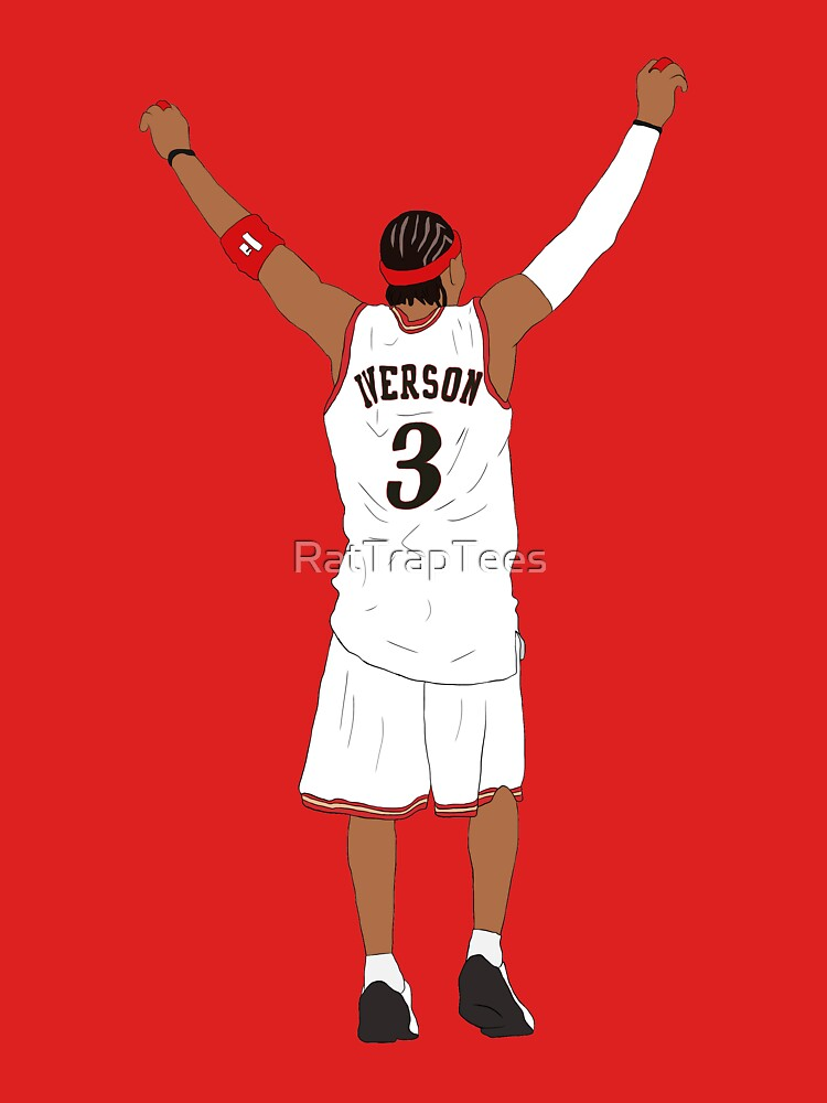 Allen Iverson Back-To by RatTrapTees