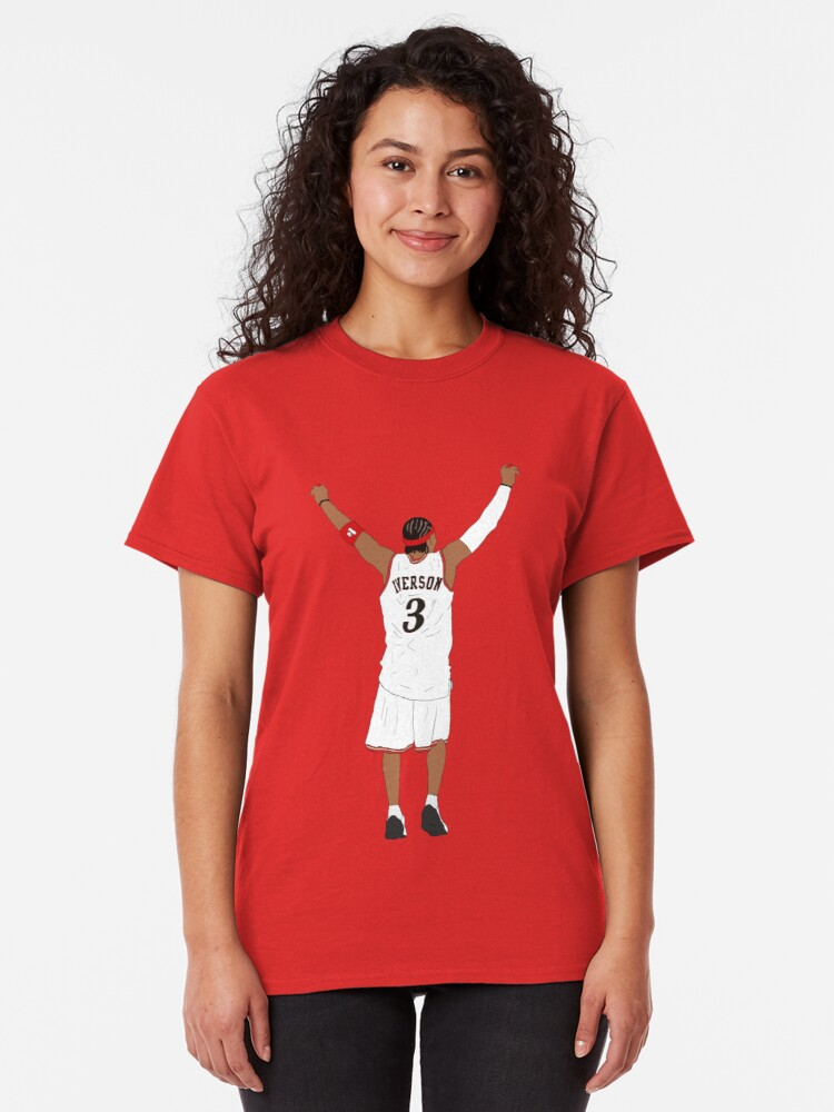 Alternate view of Allen Iverson Back-To Classic T-Shirt