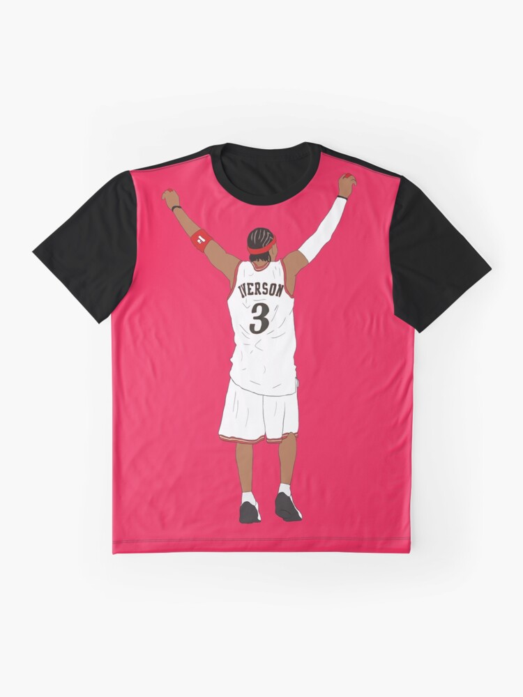 Alternate view of Allen Iverson Back-To Graphic T-Shirt