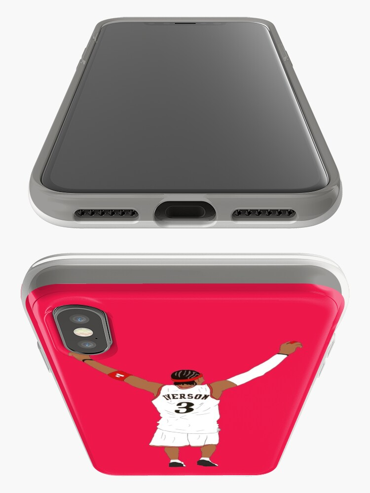 Alternate view of Allen Iverson Back-To iPhone Case & Cover