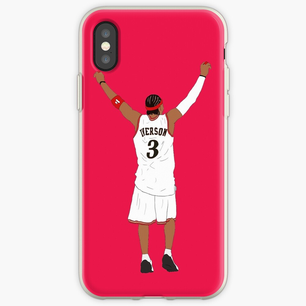 Allen Iverson Back-To iPhone Case & Cover