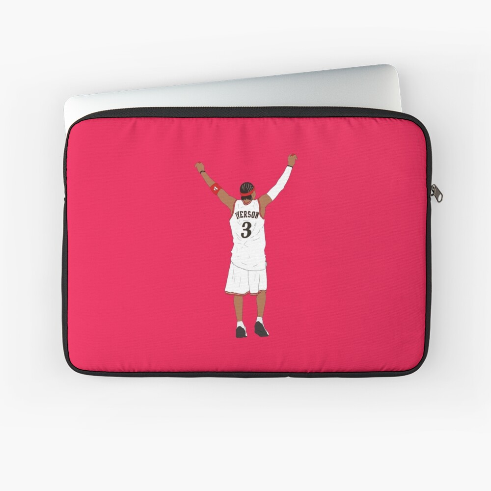Allen Iverson Back-To Laptop Sleeve