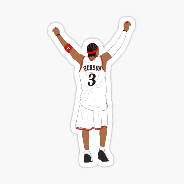 Allen Iverson Back-To Sticker