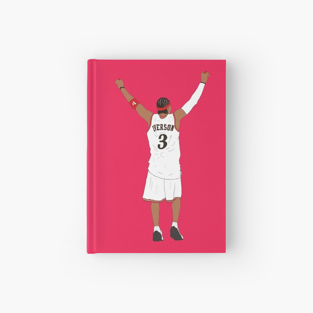Allen Iverson Back-To Hardcover Journal
