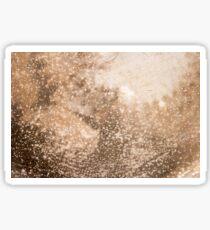 Rusty metal texture background Sticker