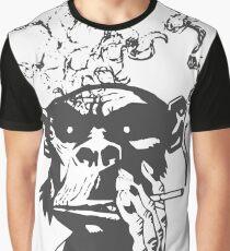smoking monkeys - Smoke Graphic T-Shirt