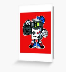 Retro Gaming Gift - Gamer  Greeting Card