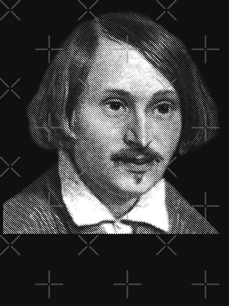 Gogol, portrait by kislev