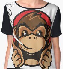 Smoking Monkey - Whats Up! Women's Chiffon Top
