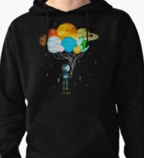 Planet Balloons - Space Party Pullover Hoodie