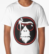 Smoking Monkey - Cool Long T-Shirt