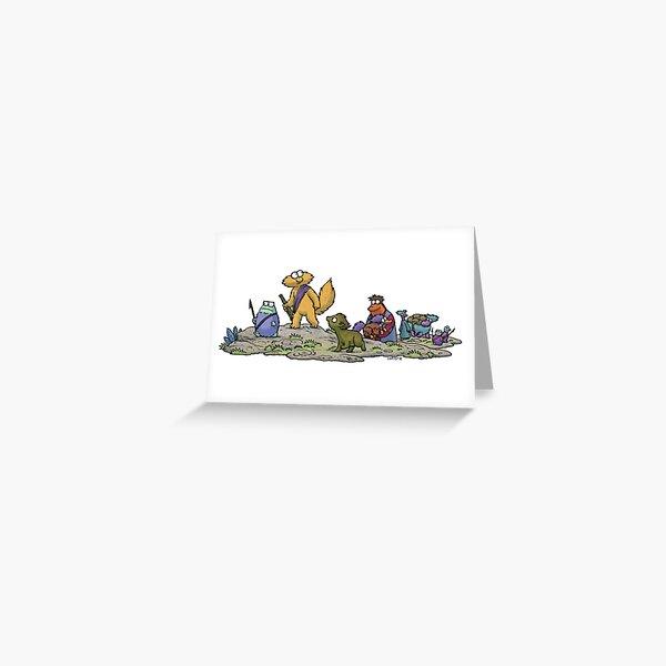 Intrepid Adventurers Greeting Card