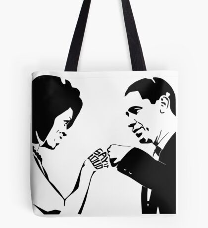 SAY IT LOUD: Obama Fist Bump Tote Bag