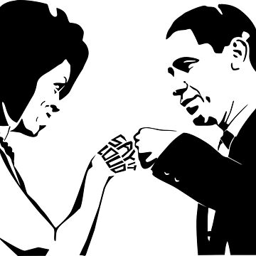SAY IT LOUD: Obama Fist Bump by carbonfibreme