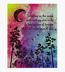 Grateful Dead - Standing on the Moon Photographic Print