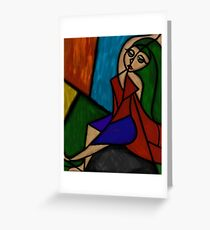The Shapes of Beauty Greeting Card