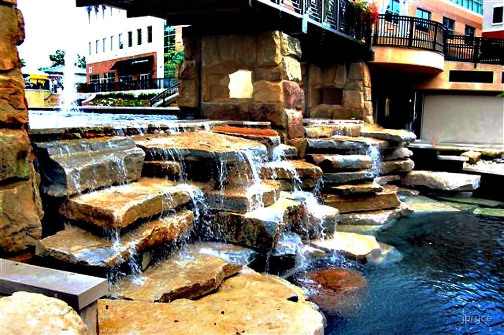 Man Made Waterfall by jpryce