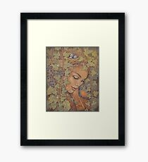 Ivy + Robin Framed Print