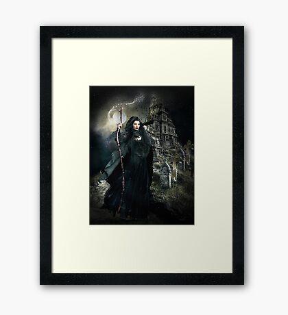 Witch Hunt Framed Print
