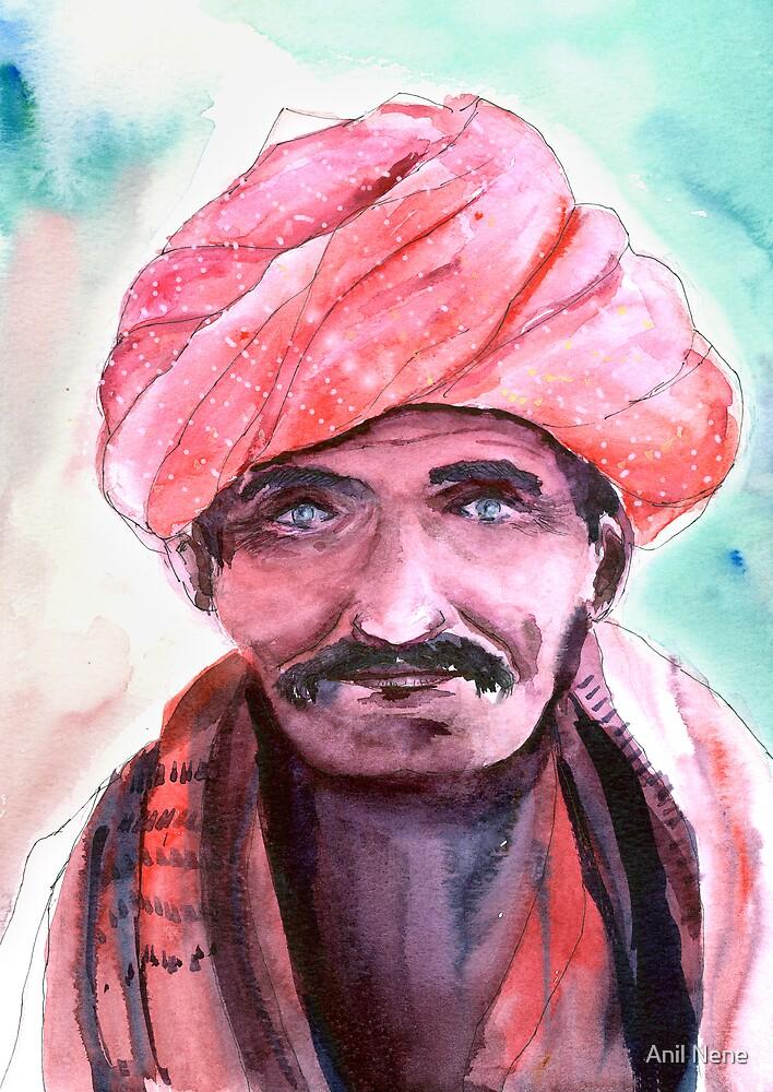 Village Chief by Anil Nene