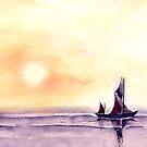 Sailing by Anil Nene