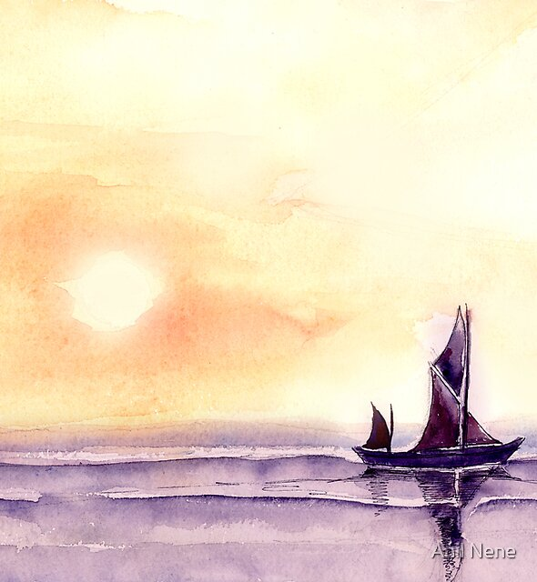 Sailing by Anil Nene