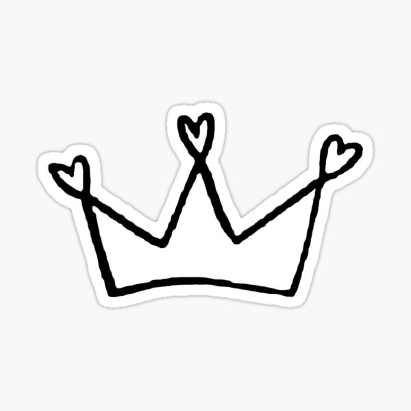 Heart Crown <3  Sticker