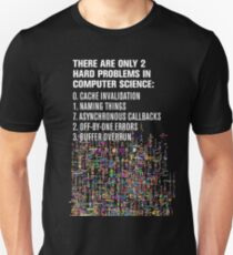 Only 2 Hard Problems in Computer Science: version 2.0.0-rc-937.04-hot-patch Unisex T-Shirt
