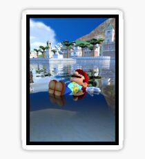 Mario Relaxing Sticker